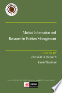 Market Information And Research In Fashion Management Book PDF