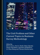 The Unit Problem and Other Current Topics in Business Survey Methodology Pdf/ePub eBook