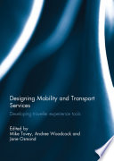 Designing Mobility And Transport Services Book PDF