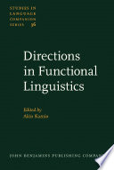 Directions in Functional Linguistics