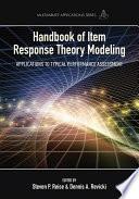 Handbook of Item Response Theory Modeling