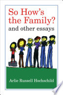 So How S The Family  Book