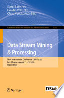 Data Stream Mining   Processing Book