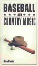 Baseball and Country Music
