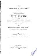 Constitution Government Of New Jersey