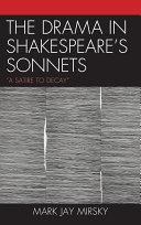 The Drama in Shakespeare s Sonnets