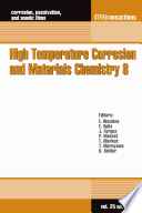 High Temperature Corrosion and Materials Chemistry 8