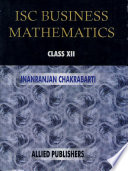 Isc Business Mathematics For Class Xii
