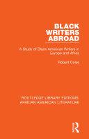 Black Writers Abroad Pdf/ePub eBook