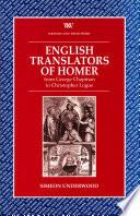 English Translators of Homer
