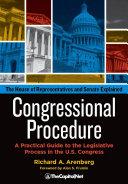 Congressional Procedure Pdf/ePub eBook