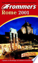 Frommer's Rome 2001