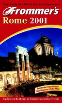 Pdf Frommer's Rome 2001