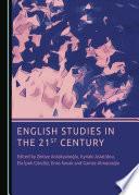 English Studies In The 21st Century