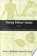 Facing Ethical Issues Book