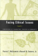 Facing Ethical Issues Pdf/ePub eBook
