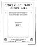 The General Schedule of Supplies