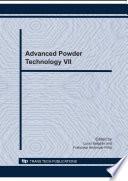 Advanced Powder Technology VII