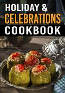 Holiday   Celebrations Cookbook  Blank Recipe Book to Write in Cookbook Organizer