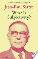 What Is Subjectivity