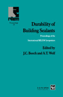 Durability of Building Sealants