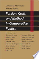 Passion Craft And Method In Comparative Politics