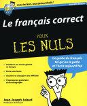 Pdf Le Français correct Pour les Nuls Telecharger