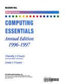 McGraw-Hill Computing Essentials, 1996-1997 Edition