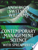 Contemporary Management Science
