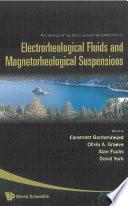 Electrorheological Fluids and Magnetorheological Suspensions Book
