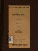 The Uniform Commercial Code