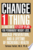 Change 1 Thing Book PDF