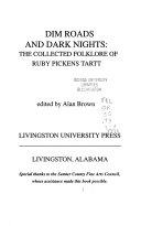 Dim Roads and Dark Nights Book