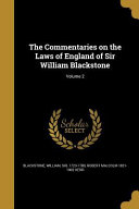 COMMENTARIES ON THE LAWS OF EN