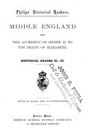 Middle England from the accession of Henry II. to the death of Elizabeth (1154-1603)