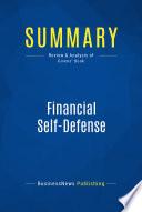 Summary Financial Self Defense