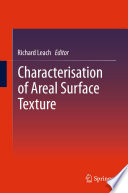 Characterisation of Areal Surface Texture Book