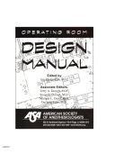 Operating Room Design Manual Book