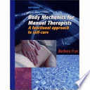 Body Mechanics For Manual Therapists Book PDF