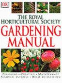 The Royal Horticultural Society Gardening Manual