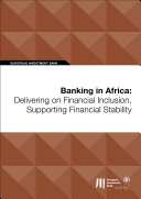Pdf Banking in Africa: Delivering on Financial Inclusion, Supporting Financial Stability Telecharger