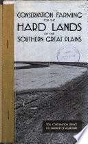 Conservation Farming For The Hard Lands Of The Southern Great Plains