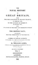 The naval history of Great Britain  from     1793  to     1820  with an account of the origin and increase of the British navy