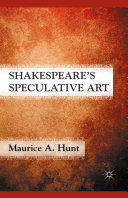 Shakespeare's Speculative Art Pdf/ePub eBook