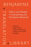 Pdf Efforts and Models in Interpreting and Translation Research Telecharger