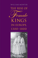 Pdf The Rise of Female Kings in Europe, 1300-1800 Telecharger