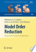 Model Order Reduction Theory Research Aspects And Applications Book PDF