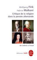 Pdf Critique de la religion dans la pensée allemande du XVIIIe au XXe siècles Telecharger