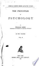 The Principles of Psychology Book