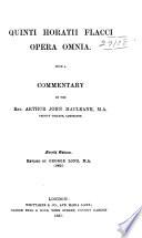 Quinti Horatii Flacci opera omnia Book PDF